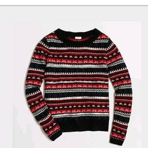 J. Crew Factory Fair Isle Sweater Size Small